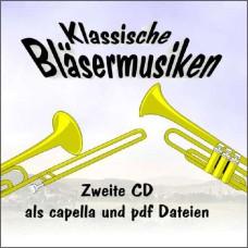 Klassische Bläsermusiken 2 CD