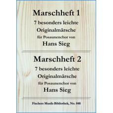 Marschheft 1 und 2 von Hans Sieg