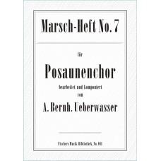 Marsch-Heft Nr. 7, Ueberwasser