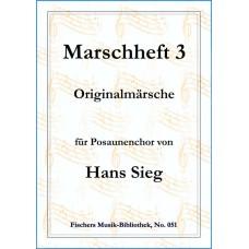 Marschheft 3 von Hans Sieg