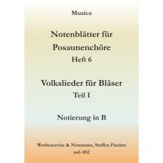 Musica 6 - Volkslieder 1. Teil in B