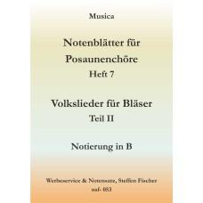 Musica 7 - Volkslieder 2. Teil in B