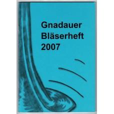 Gnadauer Bläserheft 2007