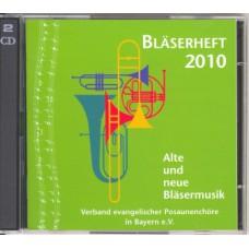 Bläserheft 2010 - Doppel-CD