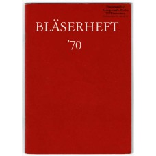 Bläserheft '70, Zeitgenössische frei Bläsermusiken