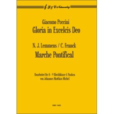 G. Puccini: Gloria / N.J. Lemmens u. C. Franck: Marche Pontifical