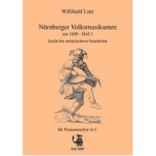 Nürnberger Volksmusikanten um 1600 Band 1