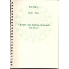 Musica 5 - Advents- und Weihnachtslieder