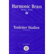Tonleiterstudien für Posaunenchor - C-Notation
