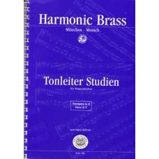 Tonleiterstudien für Posaunenchor - Trp B, Hn F