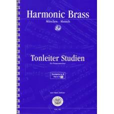 Tonleiterstudien für Posaunenchor - Trp B, Hn Es