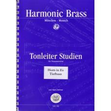 Tonleiterstudien für Posaunenchor - Hn Es, Tiefbass
