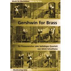 Gershwin-Album für Posaunenchor