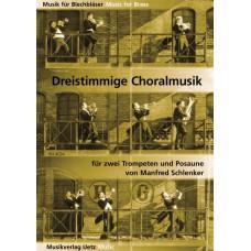 Dreistimmige Choralmusik