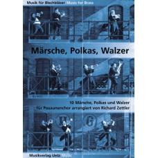 10 Märsche, Polkas und Walzer