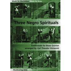 Three Negro Spirituals