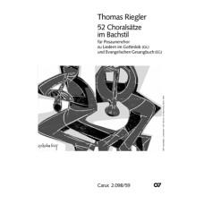 Thomas Riegler, 52 Choralsätze im Bachstil für Posaunenchor