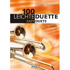 100 Leichte Duette für 2 Posaunen