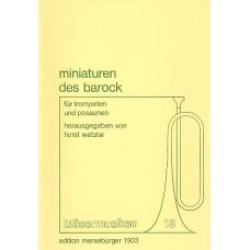 Miniaturen des Barock