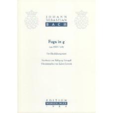 Fuge g-Moll, aus BWV 578