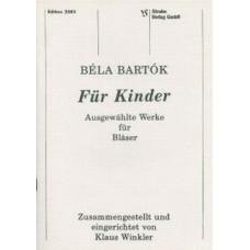 Bela Bartok, Für Kinder