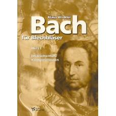 Bach für Blechbläser. Heft I