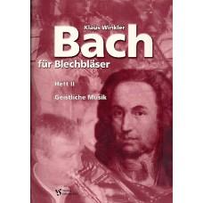 Bach für Blechbläser. Heft II