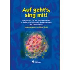 Auf geht's, sing mit!