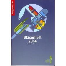 Bläserheft 2014, Ausgabe in Bb