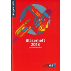 Bläserheft 2018, Ausgabe in Bb ohne Bass