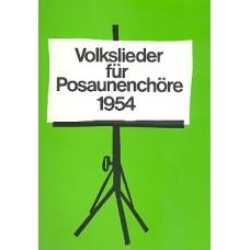 Volkslieder für Posaunenchöre 1954